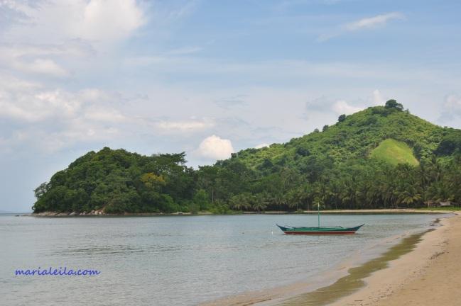Buluang beach, El Nido, Philippines, where I got eaten by sandflies.